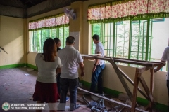 "Gisuta ni 3rd District Congressman ""Manoy"" Zubiri, Provincial Board Members Ben Baguio, Joseph Palmada, ""Bing"" Casinabe, ug Mayor ""Poling"" Lorenzo ang School Buildings sa SNHS ug QNHS 006"