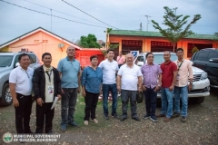 "Gisuta ni 3rd District Congressman ""Manoy"" Zubiri, Provincial Board Members Ben Baguio, Joseph Palmada, ""Bing"" Casinabe, ug Mayor ""Poling"" Lorenzo ang School Buildings sa SNHS ug QNHS 009"