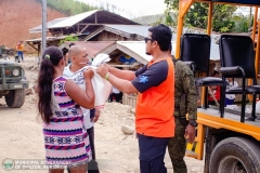 Giving Food Packs to 22 Surrenderees 002