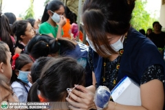 Giving of Mask in Salawagan Central Elementary School (SCES) 003
