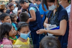 Giving of Mask in Salawagan Central Elementary School (SCES) 004
