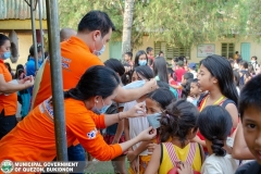Giving of Mask in Salawagan Central Elementary School (SCES) 007