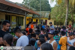 Giving of Mask in Salawagan Central Elementary School (SCES) 008
