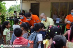 Giving of Mask in Salawagan Central Elementary School (SCES) 009