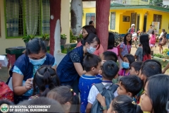 Giving of Mask in Salawagan Central Elementary School (SCES) 010