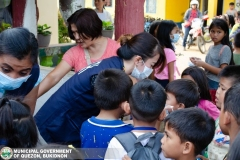 Giving of Mask in Salawagan Central Elementary School (SCES) 011
