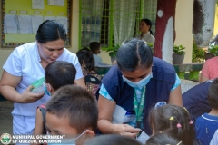 Giving of Mask in Salawagan Central Elementary School (SCES) 012