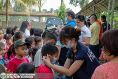 Giving of Mask in Salawagan Central Elementary School (SCES) 015