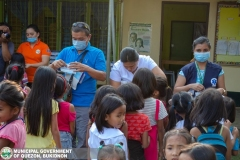 Giving of Mask in Salawagan Central Elementary School (SCES) 016
