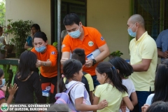 Giving of Mask in Salawagan Central Elementary School (SCES) 017