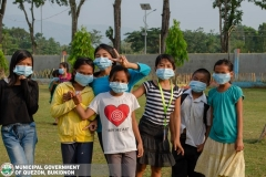 Giving of Mask in Salawagan Central Elementary School (SCES) 020