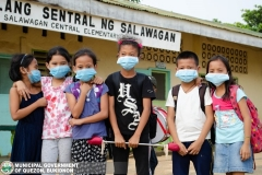 Giving of Mask in Salawagan Central Elementary School (SCES) 021