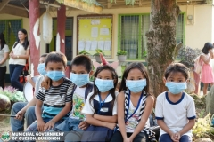 Giving of Mask in Salawagan Central Elementary School (SCES) 022