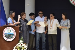Inauguration of Elected Officials and Last 13th SB Session 005