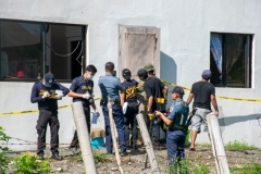 Investigation on Explosion at Quezon MPS 002