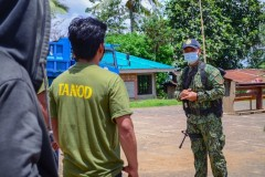 Libreng Serbisyo Medical, Agricultural, Ug Daghan Pa Nga Mga Ayuda Ang Gitunol Ngadto Sa Mga Residente Sa Brgy. Cawayan, Quezon, Bukidnon Pinaagi Sa Philippine National Police (PNP) End Local Communist Armed Conflict (ELCAC) Caravan Kaniadtong April 21, 2021 001