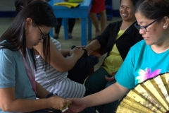 Livelihood Skills Training sa Entrepreneurship, Beauty Care, Tile Setting, ug Electrical Installation 015