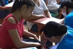 Livelihood Skills Training sa Entrepreneurship, Beauty Care, Tile Setting, ug Electrical Installation 018