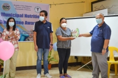 Municipal Nutrition Committee Awarding Ceremony 2020 001