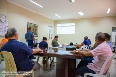 Municipal Peace and Order Council (MPOC) Quarterly Meeting 001