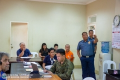 Municipal Peace and Order Council (MPOC) Quarterly Meeting 002