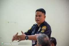 Municipal Peace and Order Council (MPOC) Quarterly Meeting 013