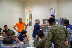 Municipal Peace and Order Council (MPOC) Quarterly Meeting 014