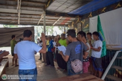 Municipal Social Welfare and Development of Quezon, Bukidnon Assists to 24 Surrenderees 002