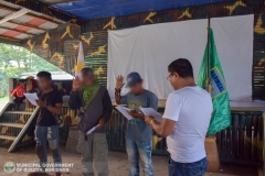Municipal Social Welfare and Development of Quezon, Bukidnon Assists to 24 Surrenderees 003