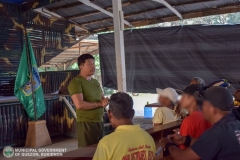 Municipal Social Welfare and Development of Quezon, Bukidnon Assists to 24 Surrenderees 004