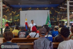 Municipal Social Welfare and Development of Quezon, Bukidnon Assists to 24 Surrenderees 005