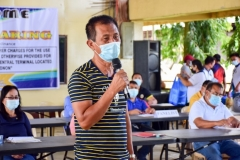 Public Hearing On The Proposed Municipal Ordinance Imposing Rental Fees And Other Charges For The Use Of Certain Spaces, Stalls, And Facilities Not Otherwise Provided For In The Quezon Central Market And Quezon Central Terminal 003