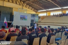 Refresher Course: The Role of Barangay Tanod in Governance at Municipal Gymnasium 001