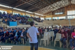 Refresher Course: The Role of Barangay Tanod in Governance at Municipal Gymnasium 002