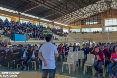 Refresher Course: The Role of Barangay Tanod in Governance at Municipal Gymnasium 003