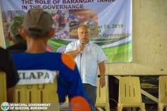 Refresher Course: The Role of Barangay Tanod in Governance at Municipal Gymnasium 013