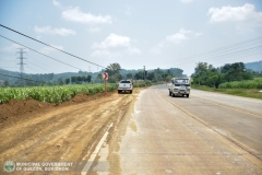 Road-Clearing Operations at Quezon, Bukidnon 02-005