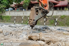 Road-Clearing Operations at Quezon, Bukidnon 02-014