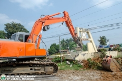 Road-Clearing Operations at Quezon, Bukidnon 02-016