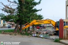 Road-Clearing Operations at Quezon, Bukidnon 02-017