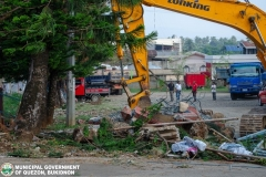 Road-Clearing Operations at Quezon, Bukidnon 02-019