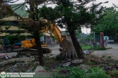 Road-Clearing Operations at Quezon, Bukidnon 02-021