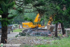 Road-Clearing Operations at Quezon, Bukidnon 02-024