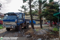 Road-Clearing Operations at Quezon, Bukidnon 02-028