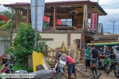 Road Clearing Operations at Quezon, Bukidnon 002