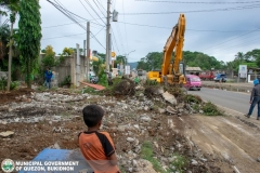 Road Clearing Operations at Quezon, Bukidnon 005