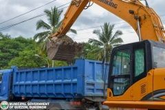 Road Clearing Operations at Quezon, Bukidnon 007