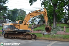 Road Clearing Operations of National Highway 022