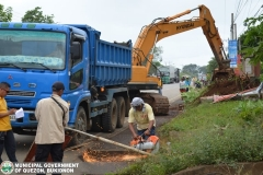 Road Clearing Operations of National Highway 025