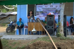 Turn-over of Solar Drier with Warehouse in Brgy. Kiburiao 001
